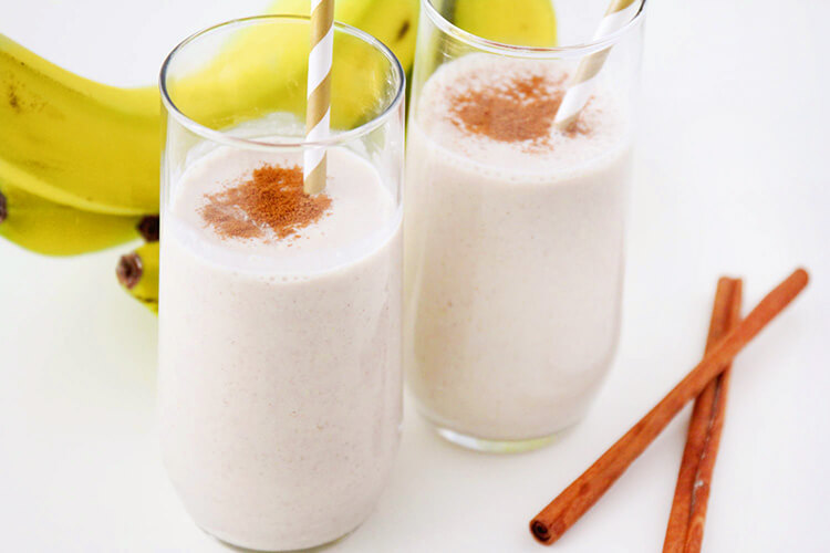 cinnamon smoothie which is good for gaining weight