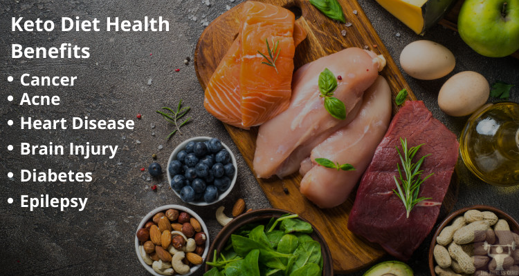health benefits of a keto diet with keto diet plan food