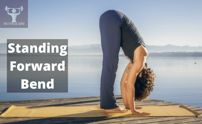 standing forward bend yoga for back pain