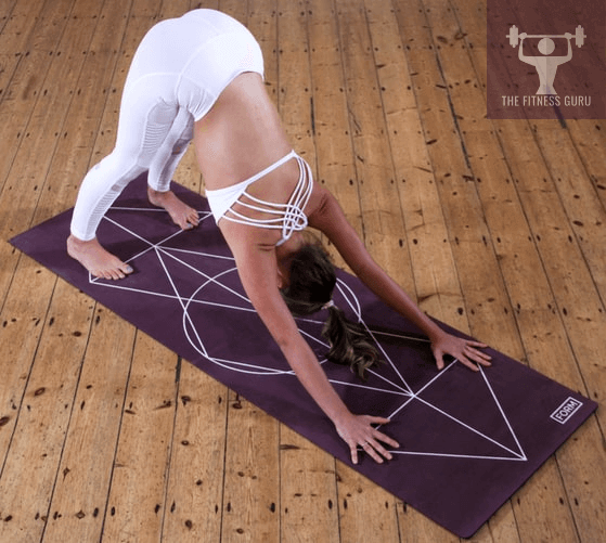 down face dog yoga for back pain