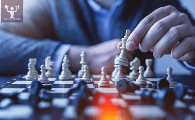 man playing chess to increase memory power