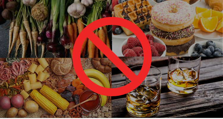 foods that you cannot eat on a keto diet