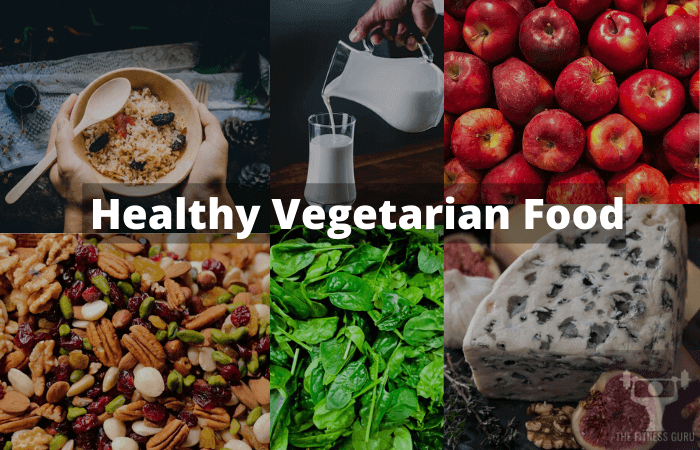 healthy vegetarian food for happy health India