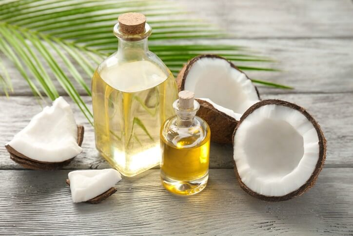 coconut oil which helps to reduce belly fat